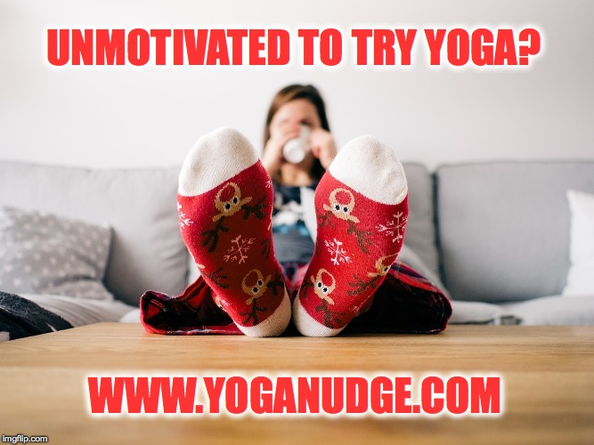 unmotivated to try yoga